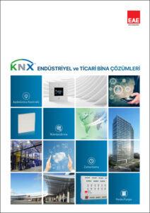 knx endüstriyel ticari bina çözümleri kataloğu kapağı